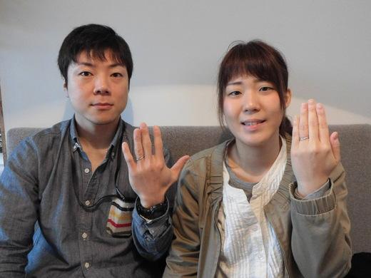 手作り結婚指輪クラム.JPG