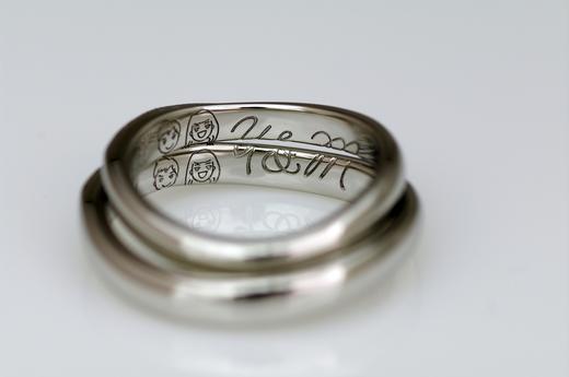 結婚指輪クラム.JPG