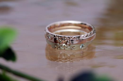 雪ー結婚指輪.JPG